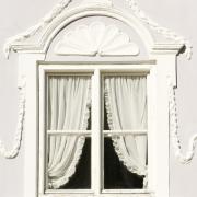 Durch schmelz renovierte Altbaufenster
