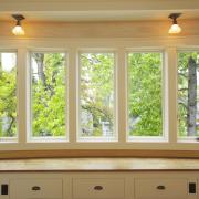 Holzfenster für Neubau